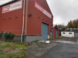 Portal Frame Steel Building - For Sale