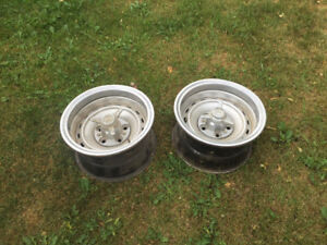 15 X 8 Rally Rims  $50 for two GMC  Chevrolet