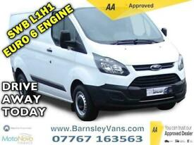 2017 Ford Transit Custom 2.0 TDCi 290 Panel Van 5dr Diesel Manual L1 H1 (163 g/k