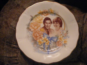 Prince of Wales and Lady Diana Spencer Plate - 1981