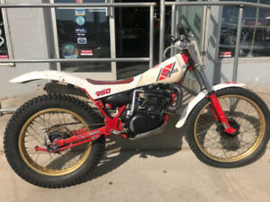 1984 YAMAHA TY250 TRIALS BIKE