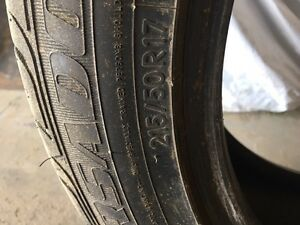 17 inch Toyo tires set of 4 almost new for sell