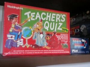 Teacher Quiz and Teen Quiz
