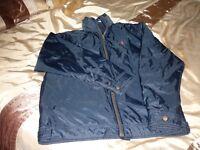 Ralph Lauren small mens coat in navy blue
