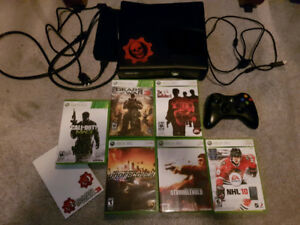XBOX 360 4gb bundle with 6 games