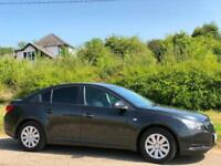 2010 [59] CHEVROLET CRUZE 1.6I [124] S 5DR SALOON BLACK ONLY 58K MILES MANUAL
