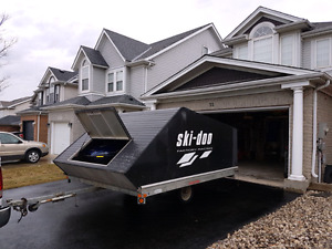 Snowmobile & trailer package