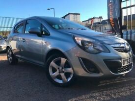 *12 MTHS WARRANTY*2012(62)VAUXHALL CORSA 1.4 SXI 5DR WITH ONLY 63K FSH 2 KEYS*