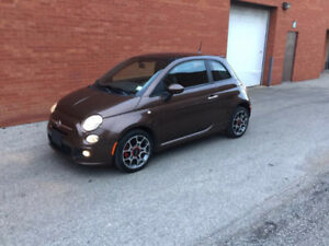 2012 Fiat 500 Sport Coupe (2 door) LOW KM (Safety & E-Test)