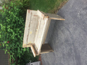 Garden Bench made from Antique door