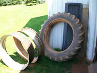 transportation for 2 tractor tires