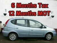 CHEAP RUNABOUT 12 MONTH MOT 6 MONTH TAX CHEVROLET TACUMA CDX MPV 2005