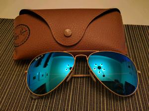 Rayban Ray Ban Polarized Aviator Sunglasses