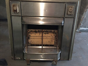 Antique gas fireplace for sale