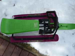 NOMA SnoRacer GT snow sleds and snow board