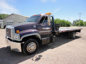1999 GM C6500 DECK TOW TRUCK