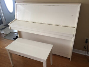 Weber upright Apartment sized piano