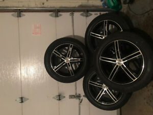 4 mags rims jantes universelle 16po 5x114.3 / 5x112