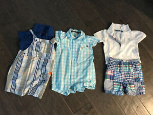 Boys outfits- 6 months very gently used. $8 for all 3!