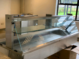 Large chilled serve over display chilled counter
