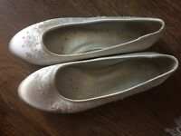 Bridal flat shoes for day and evening for sale