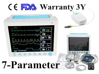 Co2 Capnograph Icuccu Vital Signs Patient Monitorecg Nibp Spo2 Pr Resp Tempus