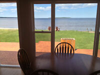 Oceanfront cottage in Grande-Digue, on Cocagne Bay, near Shediac