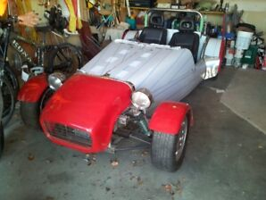 Lotus 7 Kit Car Project