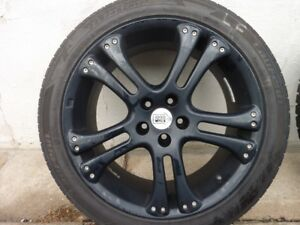 Gloss Black Mille Miglia 17' Rims 5x100 Bolt Pattern