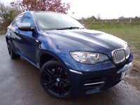 2012 BMW X6 3.0 M50d 5dr Medai Pack! Nappa Leather! 4 door MPV