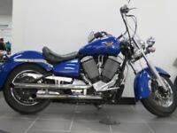 VICTORY V92 C IN GREAT CONDITION THUMPING ENGINE VERY CLEAN CHROME WORK