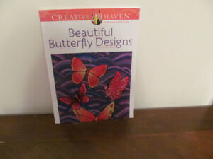 """Coloring Book """"Beautiful Butterfly Designs"""" Book No 1"""
