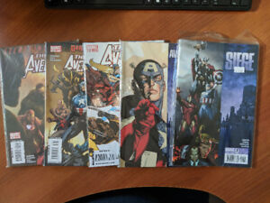 NEW AVENGERS LOT #40-64 FINALE SIEGE 1-4 SECRET INVASION