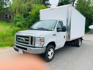 "2010 Ford E-450, 16"" box,  DIESEL ready to work runs great!!"