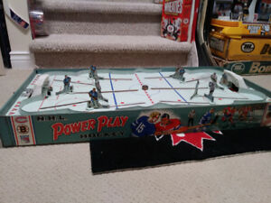 Stunning! 1958 Eagle Toys - Power Play Vintage Table Hockey game
