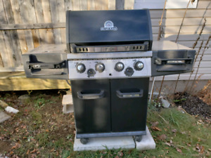 Large cast iron bbq