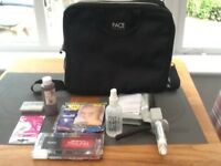 Professional make-up case with fx make-up.