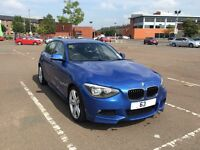 BMW 1 Series 116 Diesel 5 Door Estoril Blue not 118 120 a3 golf