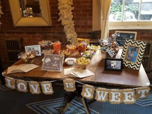 Candy table items
