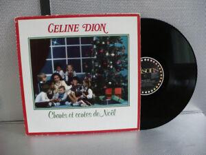 CÉLINE DION CHANTS ET CONTES DE NOEL ( VINYLE )