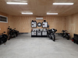 Motorcycle Winter Storage In Brand New Heated Secure Garage