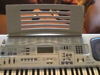 Electric piano keyboard (synthesizer)