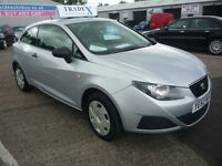 60 REG Seat Ibiza 1.2 12v ( 70ps ) ( a/c ) SportCoupe 2010MY S