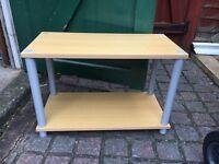 Wooden oak TV / coffee table