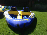 Water Tube and Trampoline