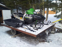 2003 cat 800  all 3 4000 or trade for a boat