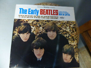DISQUE VINYLE (THE EARLY BEATLES)