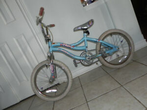 A Bicycle for saleUsed. Blue.