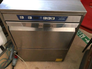 Commercial electrolux high temp dishwasher