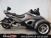2011 Can-Am SPYDER RS  SM5 14 500 KM 53,78$/SEMAINE